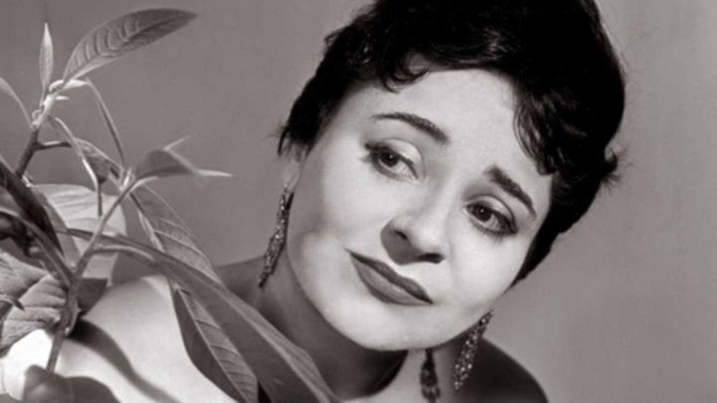 Victoria de los Ángeles murió el 15 de enero de 2005
